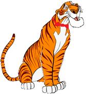 Shere Khan as Tiny Tiger
