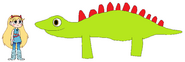 Star meets Stegosaurus
