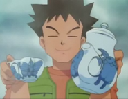 Tea time with Brock!