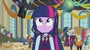Twilight Sparkle's hair falls EG3