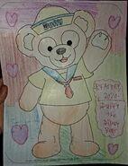 2020 Duffy the Disney Bear by RFART419