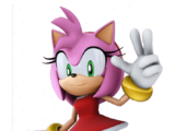 Amy Rose (Caillou, Aladdin, and Sonic Adventures)