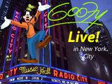 Goofy Live! in New York City