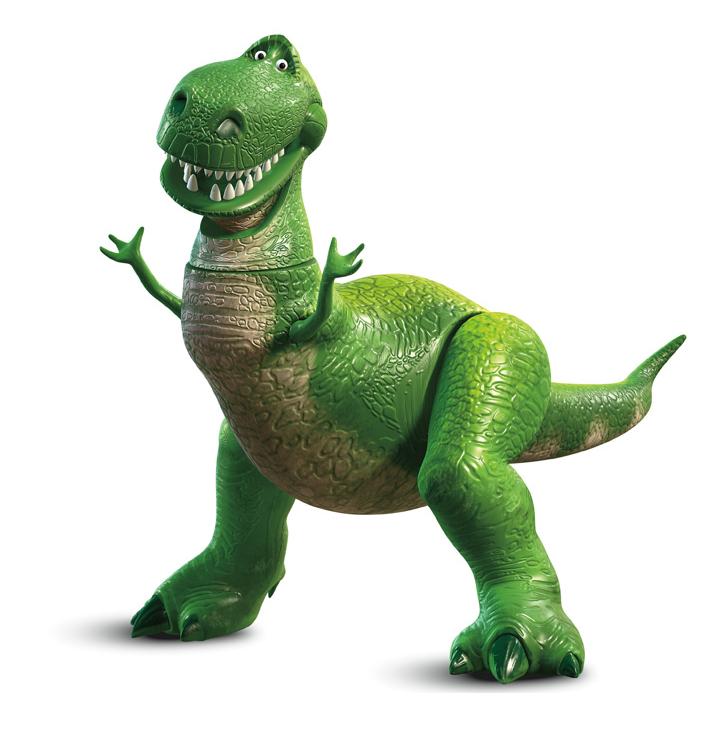 Resultado de imagen de rex toy story png