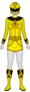 Yellow Gormiti Ranger