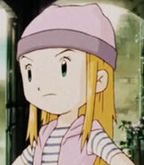 Zoe Orimoto in Digimon Frontier Island of Lost Digimon