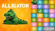 Clay Alligator