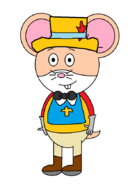 Mr. Danny Hamster (First Musketeer)