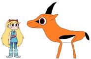 Star meets Thomson's Gazelle
