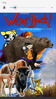 We're Back- A Yellowstone Animal's Story- Poster
