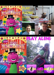 New Barney's Super Singing Circus Play Along (Special Edition 2ndFinal Release)