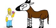 Simpsons Okapi