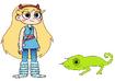 Star Meets Jackson's Chameleon