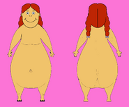 Hippo Muffy Front and Back