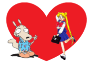 Rocko And Usagi Love Together