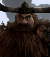 Stoick in How to Train Your Dragon