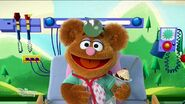 The other Muppet Babies tell Fozzie jokes