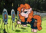 Merida as a pony