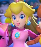 Princess Peach in Mario and Sonic at the Olympic Winter Games