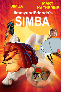 Simba bolt poster