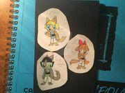 The Werewolfpuff Girls by TheRandomCat88