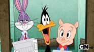 Bugs Bunny Daffy Duck and Porky