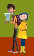 Coraline Jones and Walter Beckett (Coraline's Old Brother)