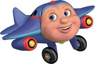Jay Jay the jet plane as Dr.Joshua