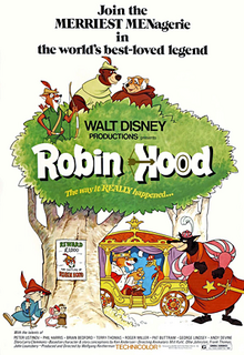 Robin Hood English Poster