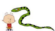 Stanley Griff meets Green Anaconda