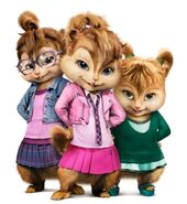 The chipettes cgi