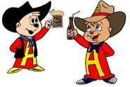 60's & 90's Cowboy Alvin