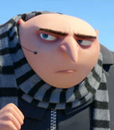 Gru in Despicable Me 3