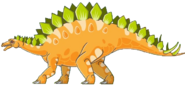 Stegosaurus Math vs Dinosaurs