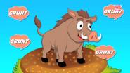 The Hog Goes Grunt