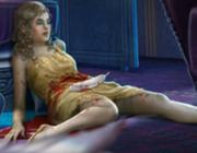 Gladys Perrin's dead body