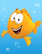 Mr.Grouper from the bubble guppies as Joe Ferguson