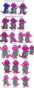 My Evolution of Barney (BYG-4th Gen)