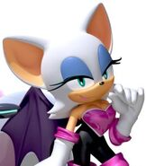 Rouge the Bat in Team Sonic Racing