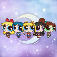 Sailor Scouts PPG style
