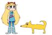 Star meets Chihuahua
