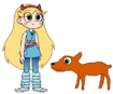 Star meets Royal Antelope