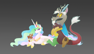 Discord-and-Celestia-my-little-pony-shipping-is-magic-31383786-900-516