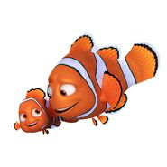 Marlin and nemo finding dory
