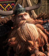Stoick in How to Train Your Dragon 2