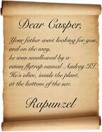 Caspernocchio-Rapunzel's-Message