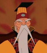 Emperor of China in Mulan