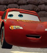 Lightning McQueen in Cars (Video Game)