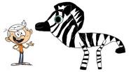 Lincon meets Plains Zebra