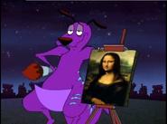 Mr-Courage-Mona Lisa